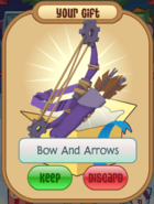 Purple Bow And Arrows