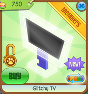 Shop Glitchy-TV White