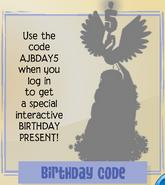 Jamaa-Journal Vol-154 Birthday-Code