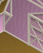 Ol-Barn Wavy-Pink-Walls