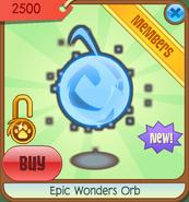 Epic-Wonders Epic-Wonders-Orb Blue-2012