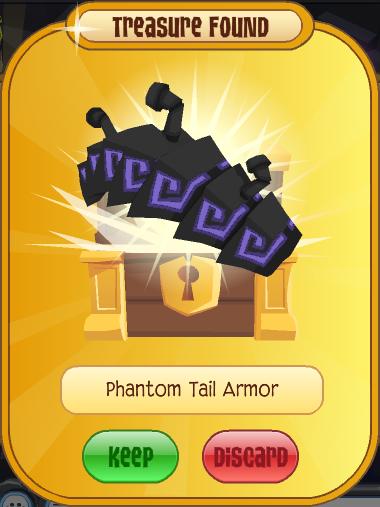 Phantom Tail Armor Animal Jam Wiki Fandom Powered By Wikia