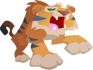 Animal jam tiger vector by shayla567-d54sz8o