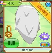 Deer Fur (White)