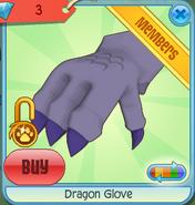 Dragon Glove purple