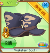 Musketeer boots