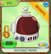 Shop Astronaut-Helmet Red