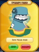 Blue Rare Nessie Mask