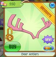 Deer Antlers (Pink)