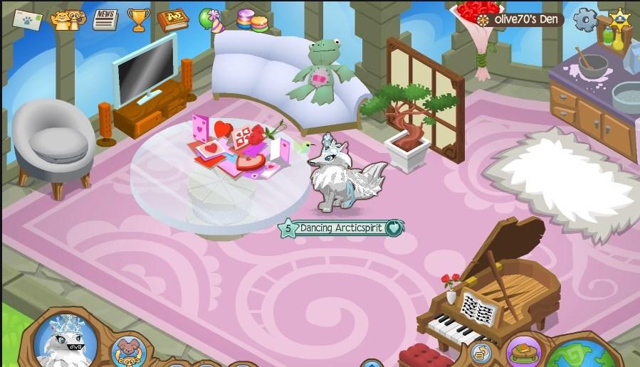 Image - Olive\'s Sky Kingdom Living Room.jpg | Animal Jam Wiki ...