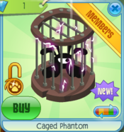 Caged Phantom circle purple