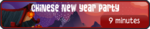 Chinese New Year Party Button