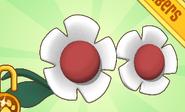 Flower Glasses Red