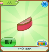 Shop Cafe-Lamp Activated