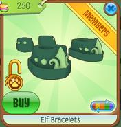 Elf Bracelets green