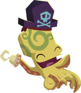 Octopus yellow