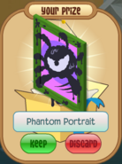 Phantom portrait green