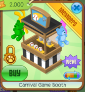 Carnival Game Booth 6