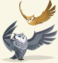 JJ Great Horned Owls