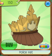 Shop Police-Hat Yellow