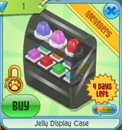 BHS Jelly Display Case black