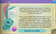 Improving animal jam chat system glitch