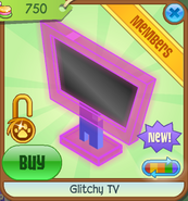 Shop Glitchy-TV Pink