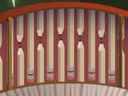 Mushroom-Hut Dust-Striped-Walls