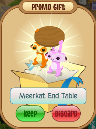 Meerkat End Table Animal Jam Wiki Fandom Powered By Wikia