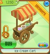 Ice Cream Cart orange