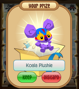 The-Claw Koala-Plushie Wrestling-Mask