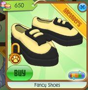 Fancy shoes (Creamy Buckwheat)