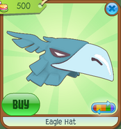 Museum-Shop Eagle-Hat Blue