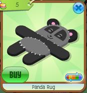 Panda Rug Grey