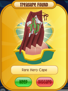 Red Rare Hero Cape