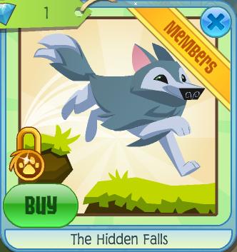 The Hidden Falls Music Animal Jam Wiki Fandom Powered By Wikia
