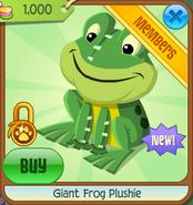 Giant Frog Plushie