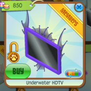 Underwater HDTV purple