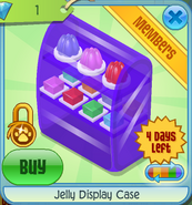 BHS Jelly Display Case purple