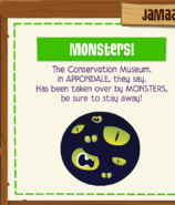 Conservationmuseum monsters