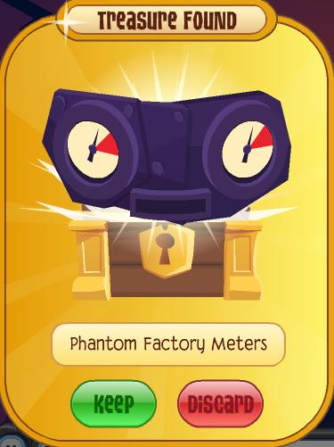 In too deep animal jam prizes for the phantom