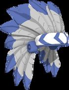 Blue Headdress