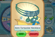 Member-Spin-Gift Rare-Turquoise-Necklace