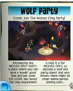 Wolf only Party jamaa journal