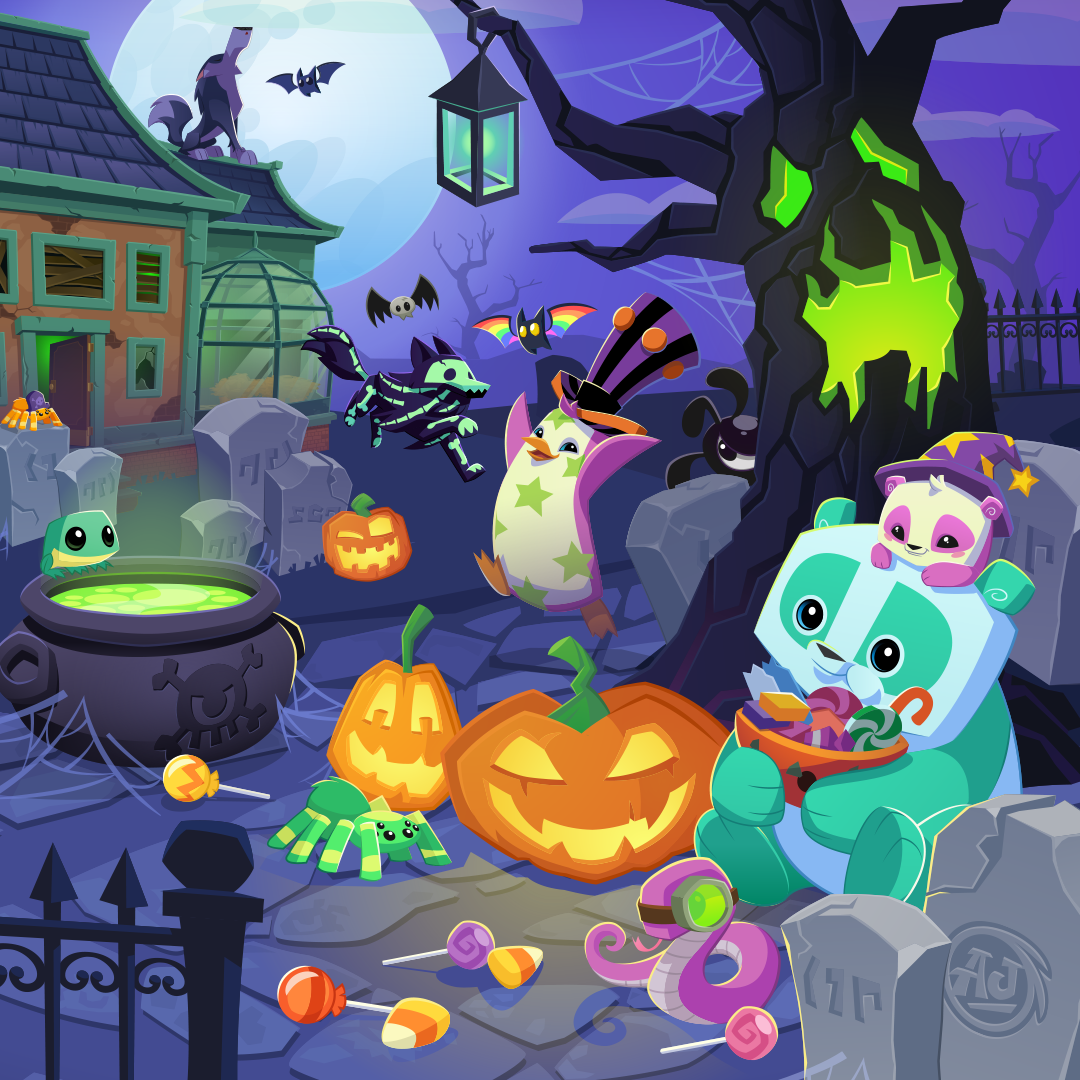 Night of the phantoms animal jam wiki fandom powered - Animaljam wiki ...