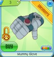 Diamond-Shop Mummy-Glove Blue