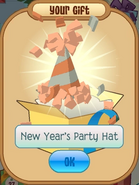 New Year's Party Hat Orange