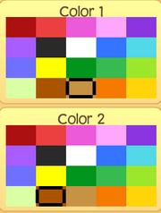 Pet mouse colors