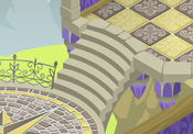 Fantasy-Castle Yellow-Diner-Tiles