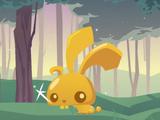 Pet Golden Bunny